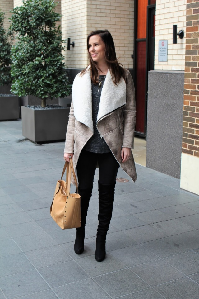 Zaful Shearling Jacket 2